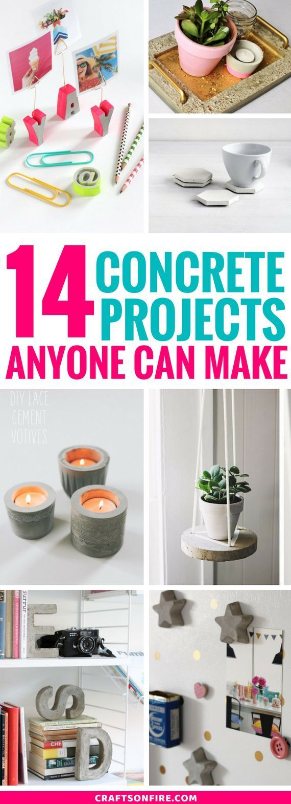 14 Most Awesome DIY Concrete Project Ideas You Can Try –