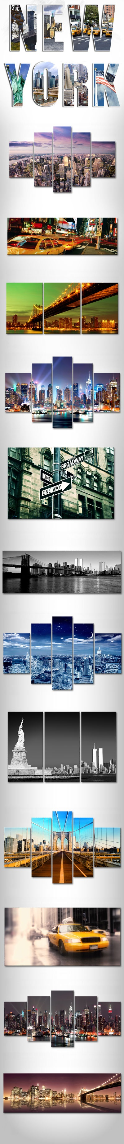 NY Canvas Art by bimago (www.bimago.com)