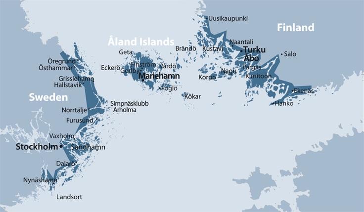 How to get here - #Aland Islands in Scandinavia