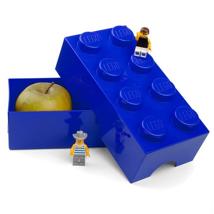 Peter's of Kensington   Lego - Lunch Box 8 Blue  Great prezzie idea!!
