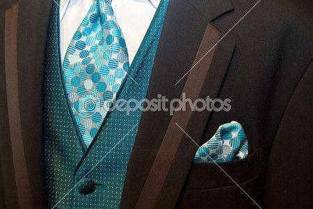 Brown Tuxedos Weddings Styles | Brown Wedding Tuxedo | Stock Photo © Maria Dryfhout #11051556