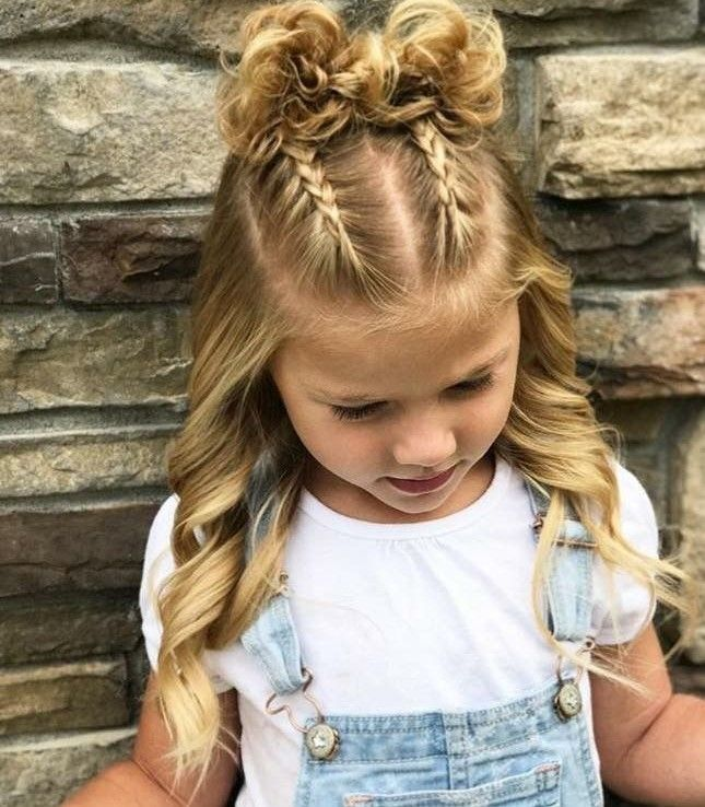 30 Cute Hairstyles For Little Girls Picture Day Hair Kids Hairstyles Girls Girls Hairstyles Easy