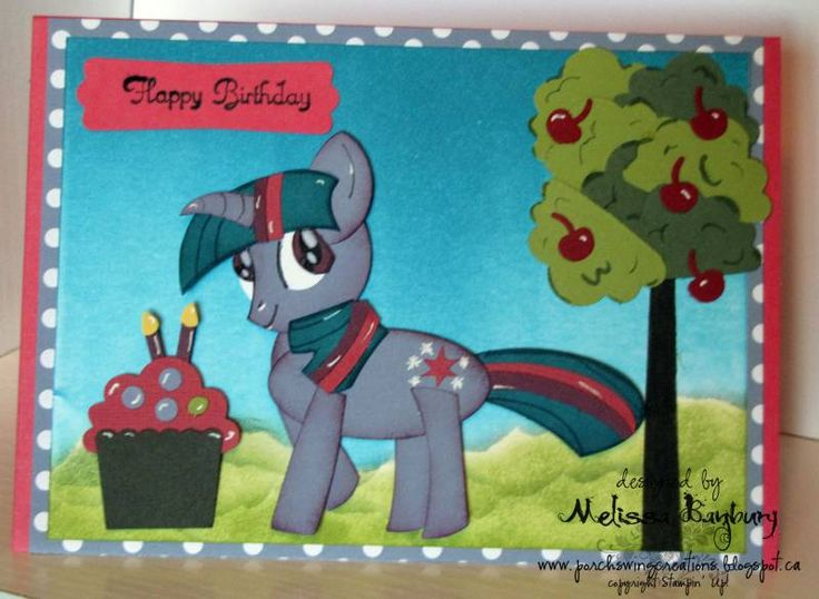 My Little Pony BirthdayBirthday Punch, My Little Ponies, Cards Ideas, Birthday Parties, Art Cards, Birthday Cards, Parties Ideas, Porches Swings, Little Ponies Birthday