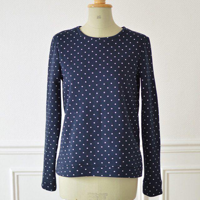 Sweat Courcelles - Cosy Little World / patron de couture pour coudre un sweat shirt