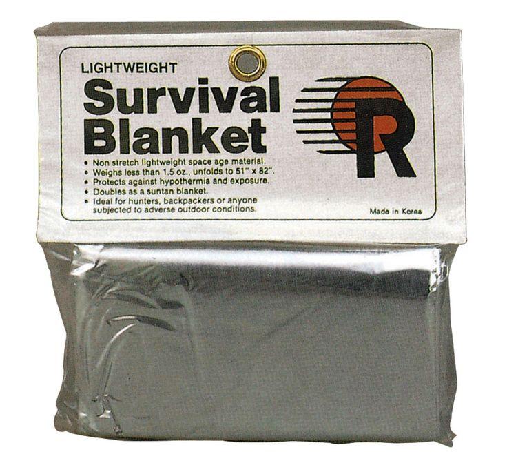 Polarshield Survival Blanket - Reflects 90% Body Heat Emergency Camping Blanket