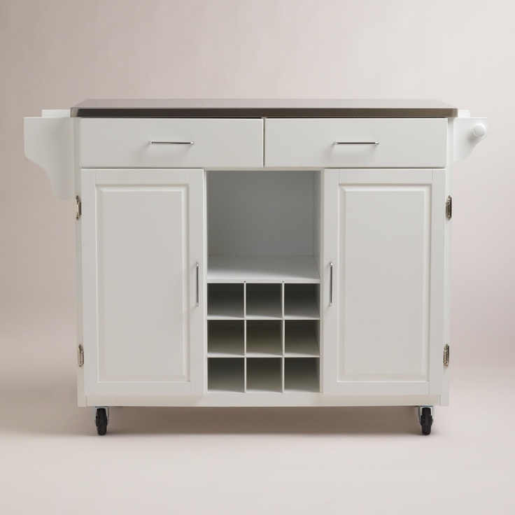 Hanna Kitchen Storage Cart | World Market
