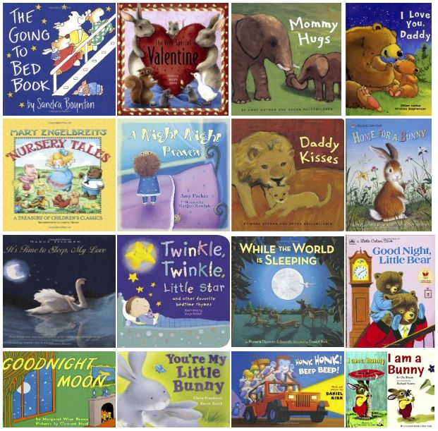 20 favorite baby bedtime books