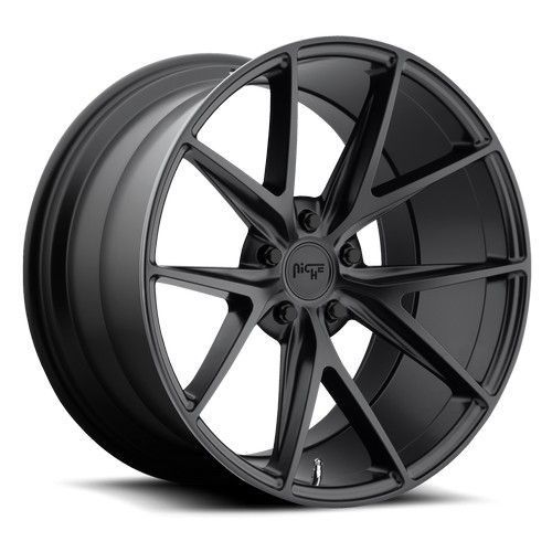 "17"" 18"" 19"" 20"" 21"" 22"" Niche Wheels M117 Misano Matte Black Rims *Free Shipping #AudioCity"