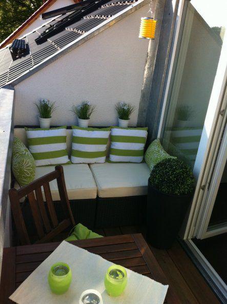 terrasse balkon 39 balkon 39 wohnung pinterest. Black Bedroom Furniture Sets. Home Design Ideas