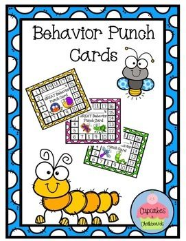 Behavior punch cards are a great tool for behavior management. You can use them in several different ways to meet the individual needs of the students in your classroom. For example, you can punch the card for positive behavior for the entire day or positive behavior