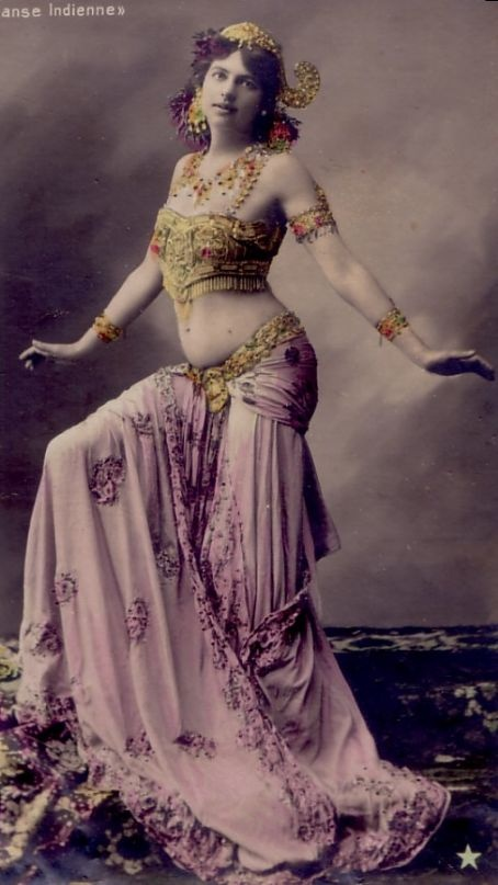 Mata Hari, was a Dutch exotic dancer, courtesan, and accused spy who was executed by firing squad in France under charges of espionage for Germany during World War I.