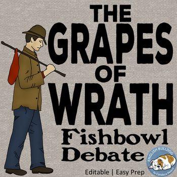 The Grapes of Wrath Fishbowl Debate