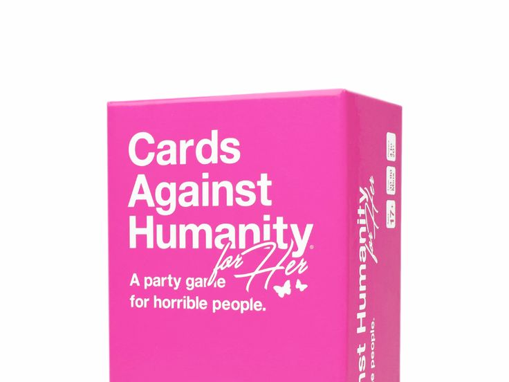 """'Cards Against Humanity' releases a new version for women: It's exactly the same, but the box is pink and it's $5 extra - Cards Against Humanity is back at it with """"Cards Against Humanity: For Her ,"""" a limited-edition version of the self-described """"party game for horrible people,"""" custom-tailored for women.  It's exactly the same game as before, with exactly the same cards. It's just that the box is pink. And it costs $5 more than the standard edition of the game, which retails for $25.…"""