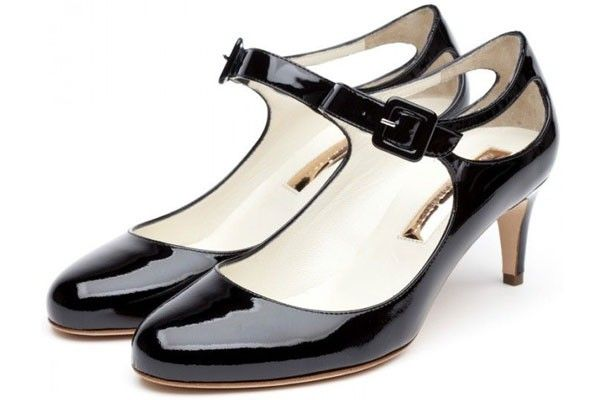 30 Granny-Chic Pieces That Are SO Not Geriatric  #refinery29  http://www.refinery29.com/granny-chic#slide-25  Rupert Sanderson Betty Black Patent Mary-Janes, $725, available at Rupert Sanderson. ...