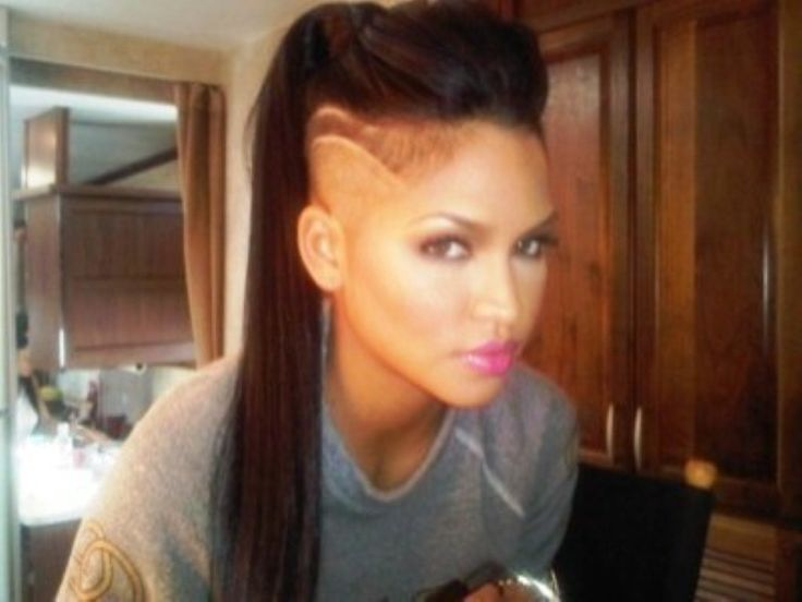 27 Best Images About Shaved Side Hairstyles On Pinterest