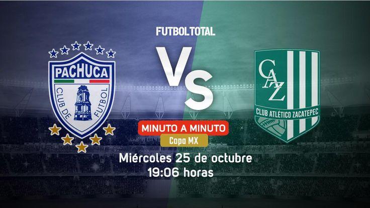 Pachuca vs Zacatepec | Copa MX 2017 | EN VIVO Minuto a minuto - Futbol Total