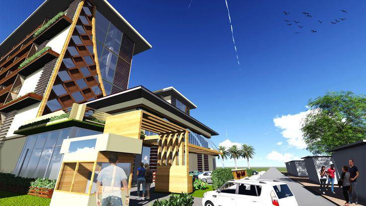 Architecture Design Studio 6 - Tropic Condotel