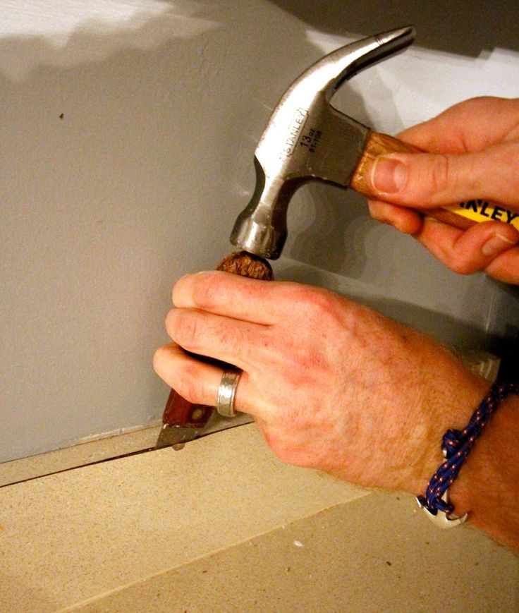 How to Remove Laminate Countertop & Backsplash Without ...