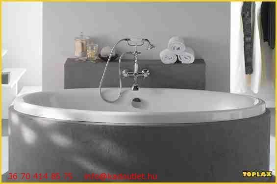 Toplax Ovale 180*90 oval kád - KádOutlet.hu - KÁDWEBÁRUHÁZ, FÜRDŐSZOBAWEBÁRUHÁZ, riho kád, ravak kád, hopa kád, Kolpa San kád, Alföldi kád, Olsen Spa kádak, akril kádak, fürdőkád, fürdőszoba - webáruház, webshop