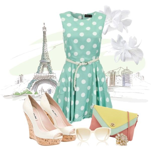 Bonjour!, created by lovely-quinn on Polyvore: The Dress