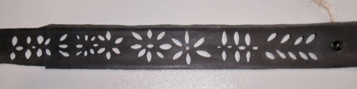 Een armband maken van een oude fietsband. Met uitleg.