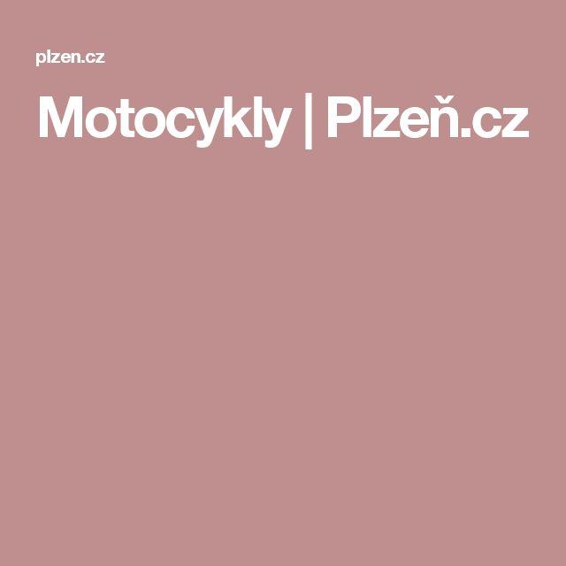 Motocykly | Plzeň.cz