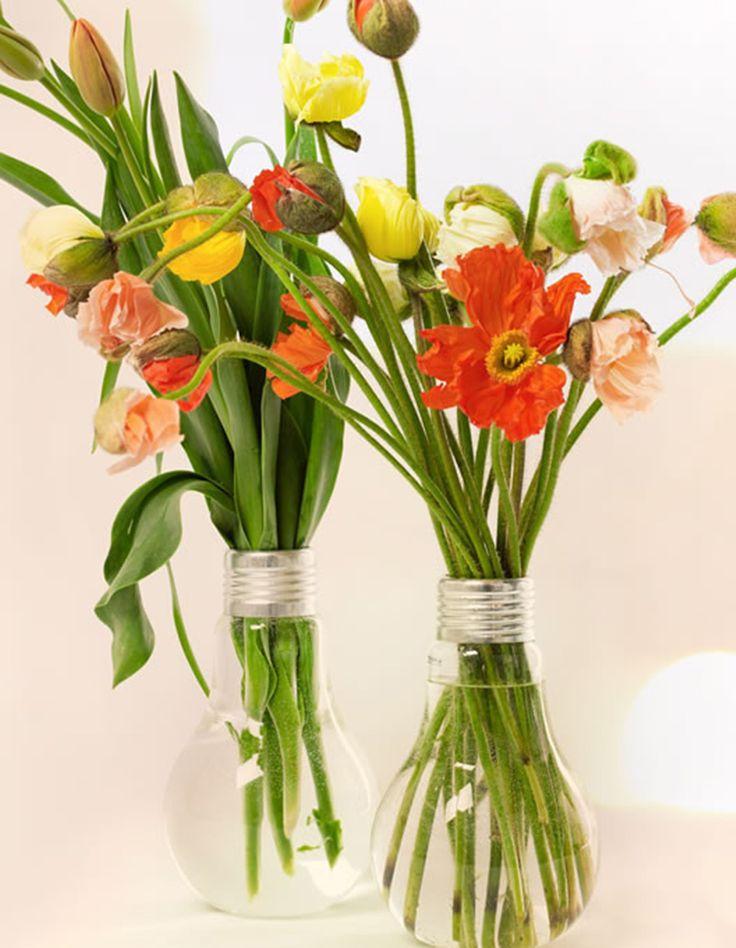 Vase en forme ampoule