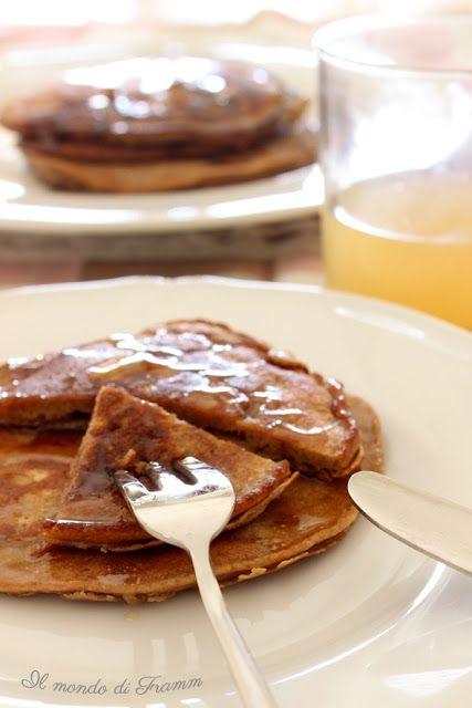 Il Mondo di Framm : Pancakes di castagne con miele di erica