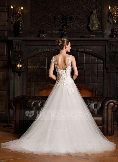 41 best vestidos novia images on Pinterest | Wedding frocks ...