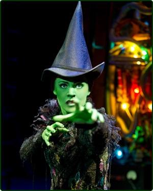 Rachel Tucker as Elphaba in London's Wicked - The award-winning West End Musical