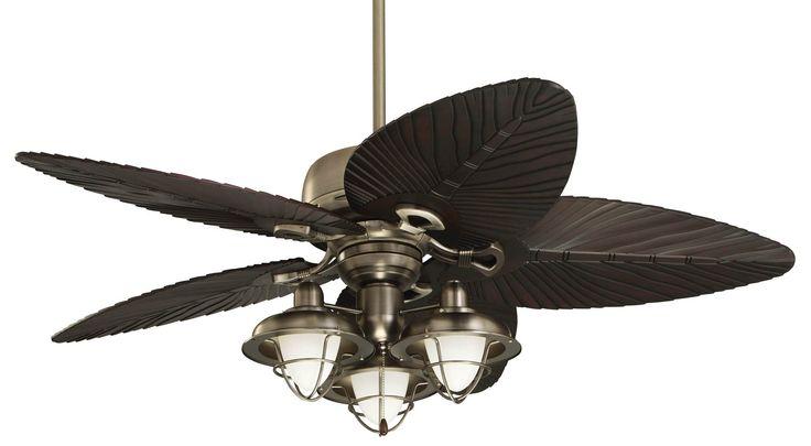 Great Deckenventilator Flügelabdeckungen · Tropical Ceiling Fans Lights Photo Gallery