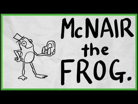 There once was a Frog called McNair.