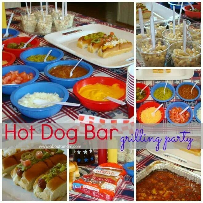 Hot Dog Fixings