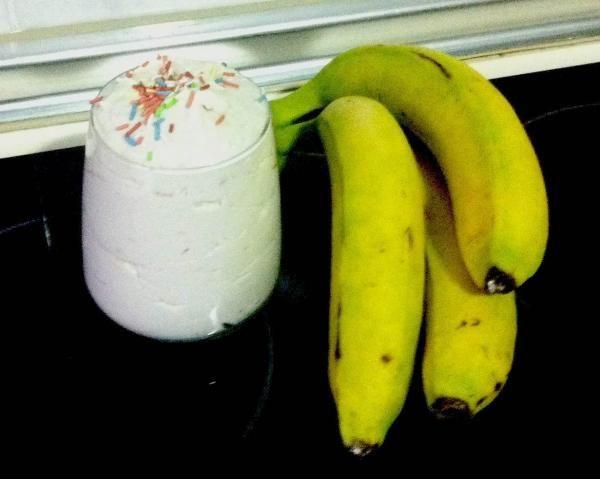 Receita de Mousse de banana simples