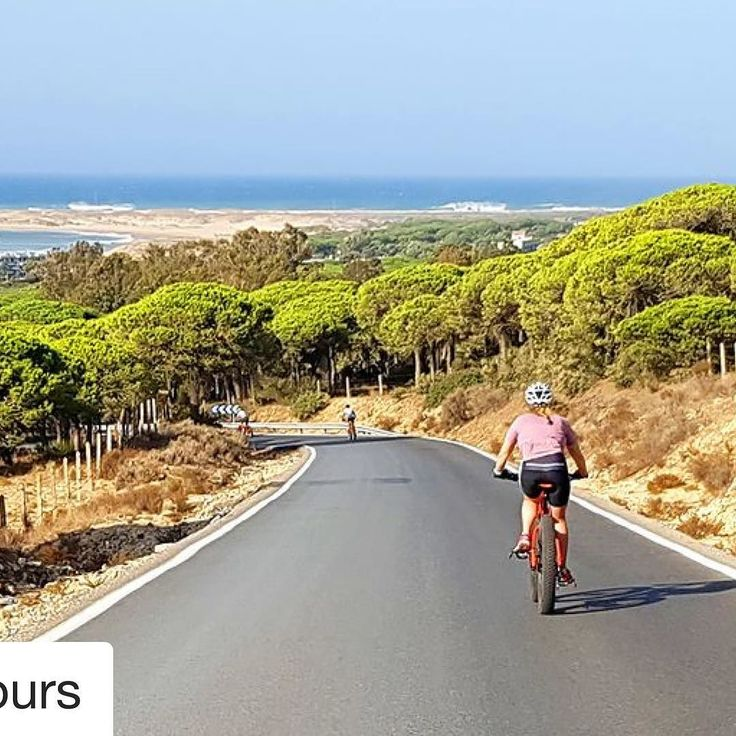 #Repost @biciztours (@get_repost)  Your favourite #biketour holidays endless white-sand beaches nature trails white washed villages sand dunes and #adventure. The paradise on Earth ! #biketours #roadcyclingtours #Spain