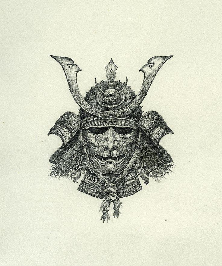 Kabuto tattoo (Line)