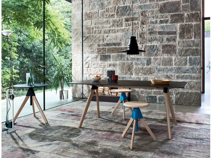 Following the great success of the Tom & Jerry Stool, Konstantin Grcic has now designed the Magis Butch Table to compliment them perfectly.