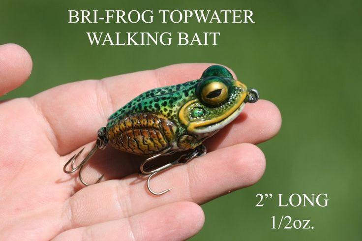 """Moreau Baits 2"""" Bri-Frog"""