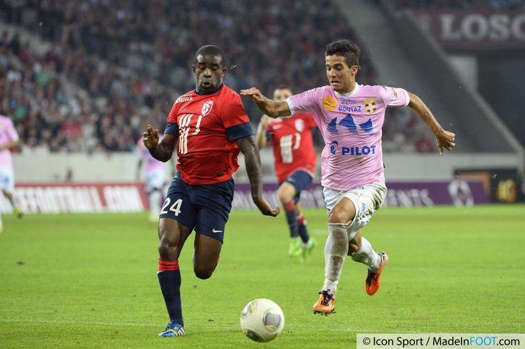 Photos Foot - Rio MAVUBA / Facundo BERTOGLIO  - 24.09.2013 - Lille / Evian Thonon - 7eme  Journee de Ligue 1