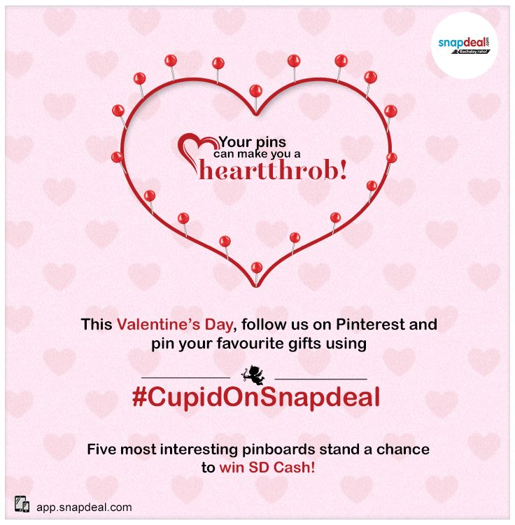 Stand a chance to win! #CupidonSnapdeal