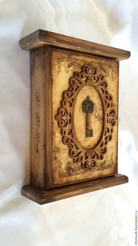 Hey, I found this really awesome Etsy listing at https://www.etsy.com/listing/505615535/key-holder-for-wall-vintage-key-box