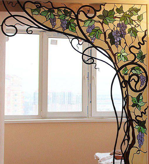Кованые витражи – уникальное украшение интерьера :: Фото красивых интерьеров