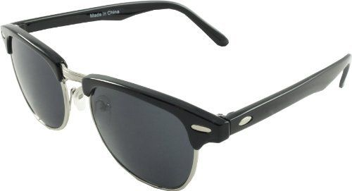 Retro 'Madison Ave' style Clubmaster Sunglasses - Black Revive Eyewear http://www.amazon.co.uk/dp/B007TIOEHG/ref=cm_sw_r_pi_dp_O-Z0wb0T5Q12V