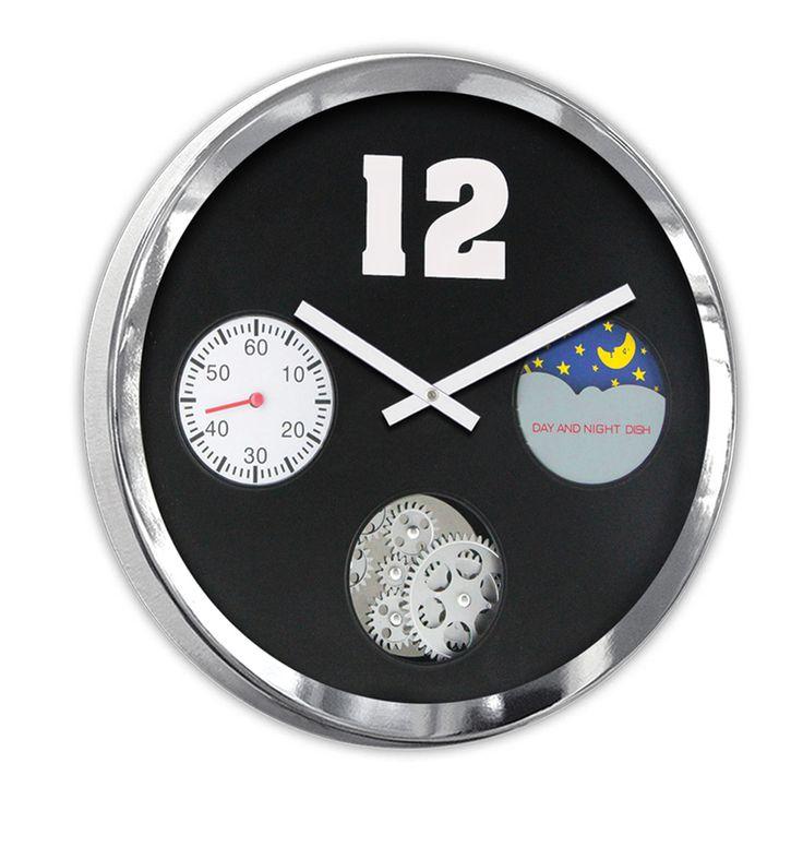 Lagün Özel Lüks Duvar Saati Modeli  Ürün Bilgisi ;  Boyutu : 40 cm Mimar ve mühendislik için oldukça uygundur Bir Yıl Üretici Firma Garantilidir.  Metal Krom Çerçeve Gerçek cam