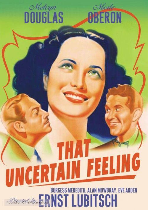 That Uncertain Feeling 1941 Film | That Uncertain Feeling dvd cover . Copyright by respective movie ...