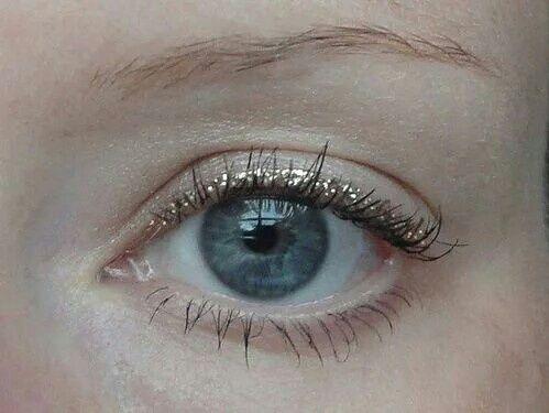 eye, blue, and glitter image