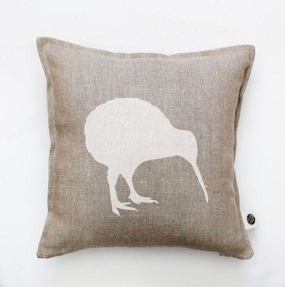 Kiwi bird pillow cover decorative pillow kiwi by pillowlink