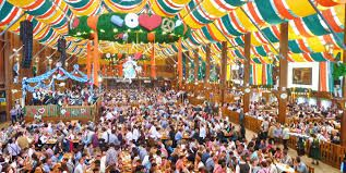 beer festival germany 2015 -The tents are packed and the beer is flowing