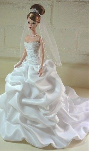 Best 25+ Barbie wedding dress ideas on Pinterest