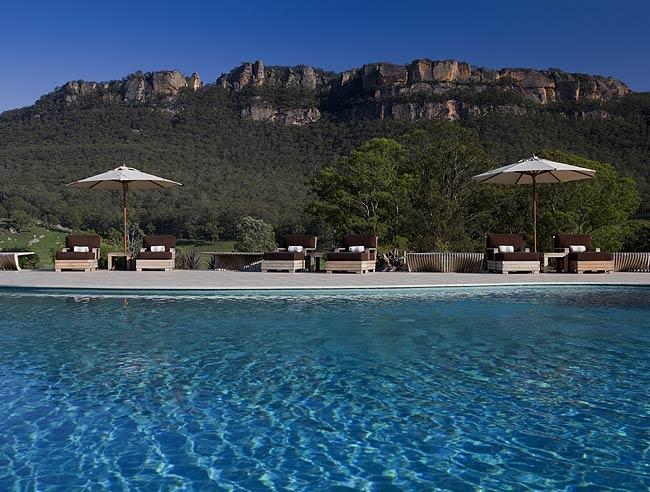 Emirates Wolgan Valley Resort & Spa, Australia.
